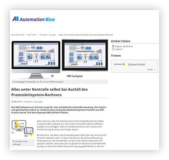 Automation Blue Newsletter
