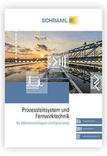Broschüre Prozessleitsystem und Fernwirktechnik für Abwasseranlagen und Kanalnetze
