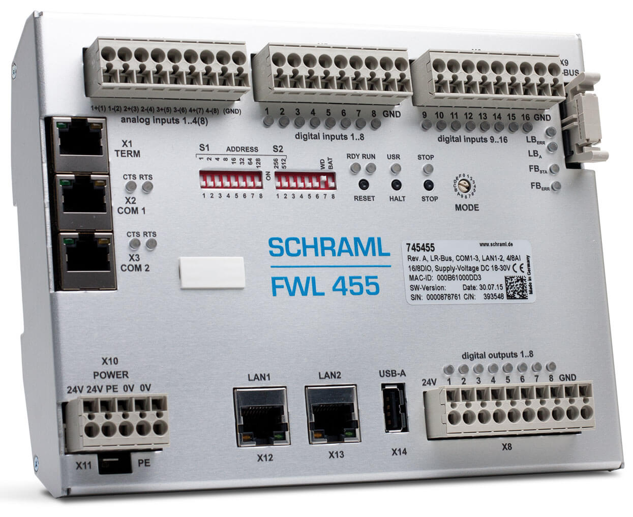 SCHRAML Fernwirkstation FWL 455