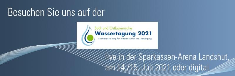 Süd- und Ostbayerische Wassertagung 2021